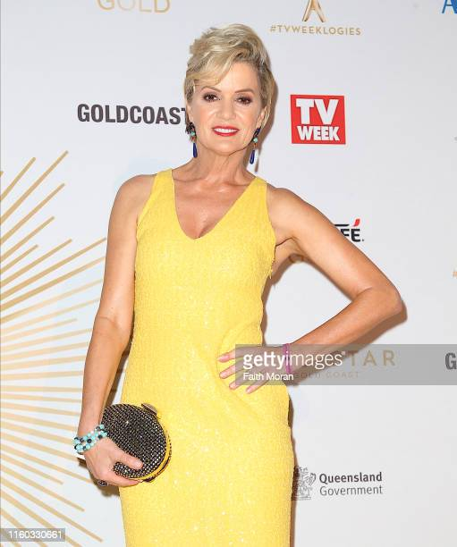 Sandra Sully arrives at the 61st Annual TV WEEK Logie Awards at The Star Gold Coast on June 30, 2019 on the Gold Coast, Australia.