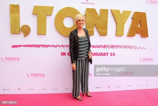 "Sandra Sully arrives at the Australian Premiere of ""I, Tonya"" on January 23, 2018 in Sydney, Australia."