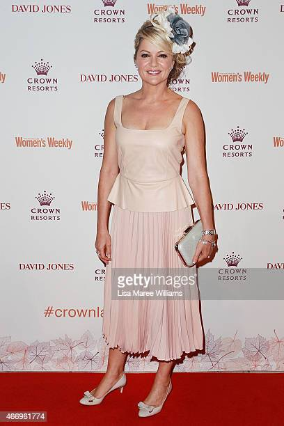 Sandra Sully arrives at the Crown's Autumn Ladies Lunch at David Jones Elizabeth Street Store on March 20 2015 in Sydney Australia