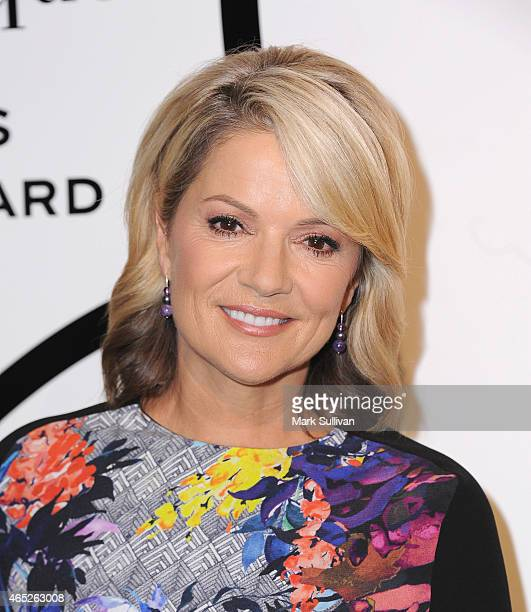 Sandra Sully attends the Veuve Clicquot New Generation Award presentation at Luxe Studios on March 5, 2015 in Sydney, Australia.