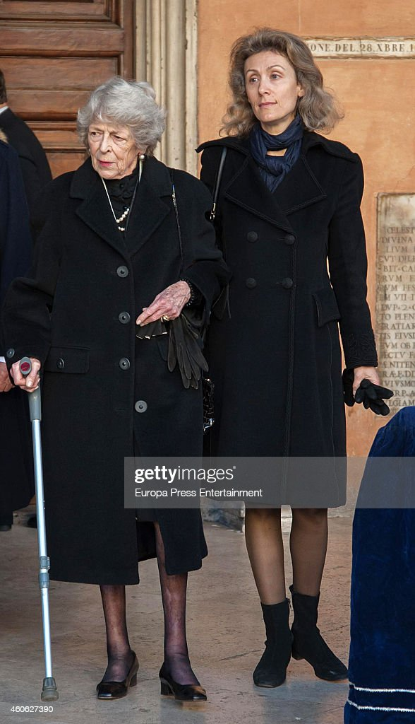 Funeral For Prince of Civitella-Cesi In Rome - December 09, 2014 : News Photo