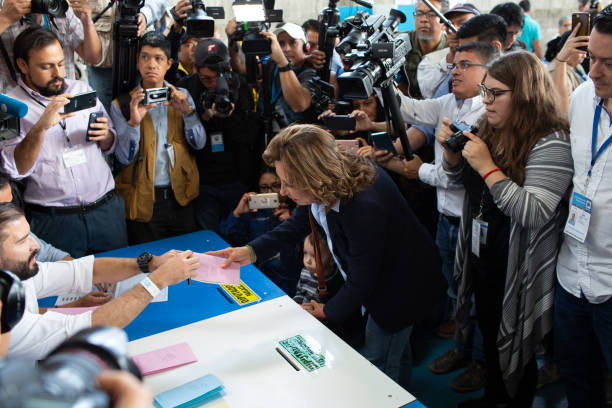 GTM: Voters At Polling Stations And Reactions During Guatemala's Presidential Elections