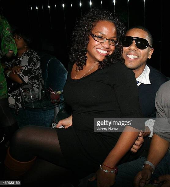 Sandra Velez and BJ Coleman attends Snoop Dogg's Ego Trippin Album Release Party Inside on March 10 2008 in New York City NY