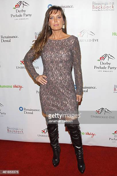 Sandra Vidal attends the 5th Annual Unbridled Eve Derby Prelude Party at The London West Hollywood on January 9 2014 in West Hollywood California