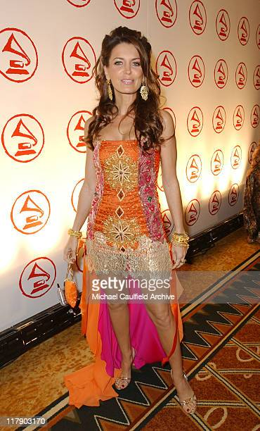 Sandra Vidal during 2005 Latin Recording Academy Person of the Year - Red Carpet at Regent Beverly Wilshire in Beverly Hills, California, United...