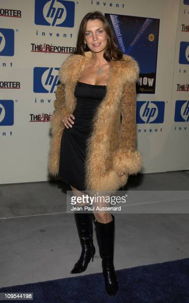 Sandra Vidal during HP and The Hollywood Reporter Celebrate 'The Future Through TV Film' Arrivals at Astra West in West Hollywood California United...