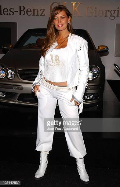 Sandra Vidal during MercedesBenz Fall 2004 Fashion Week at Smashbox Studios Day 5 Arrivals at Smashbox Studios in Culver City California United States