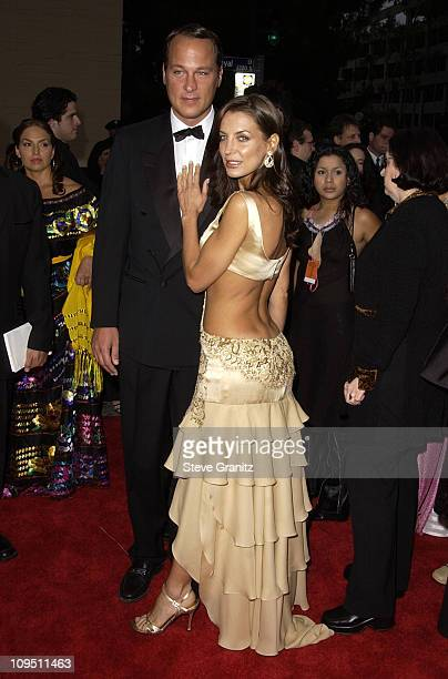 Sandra Vidal during The 2002 ALMA Awards - Arrivals at The Shrine Auditorium in Los Angeles, California, United States.