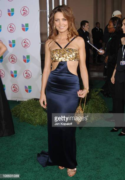 Sandra Vidal during The 6th Annual Latin GRAMMY Awards Arrivals at Shrine Auditorium in Los Angeles California United States