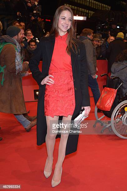 Sandra von Ruffin attends the 'Knight of Cups' premiere during the 65th Berlinale International Film Festival at Berlinale Palace on February 8 2015...