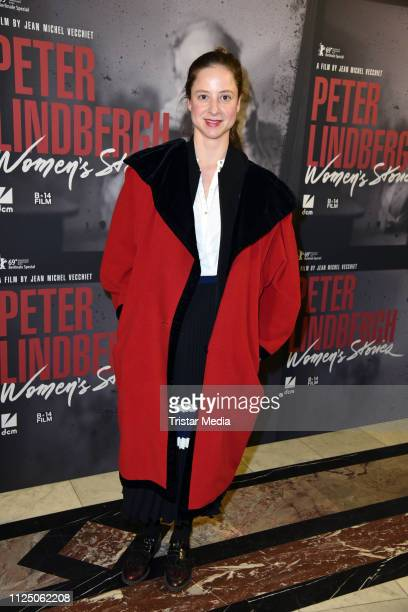 Sandra von Ruffin attends the 'Peter Lindbergh Women Stories' world premiere after show party during the 69th Berlinale International Film Festival...