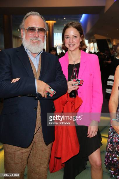 Sandra von Ruffin daughter of Vicky Leandros and Friedrich Lichtenstein during the opening night of the Munich Film Festival 2018 at Mathaeser...