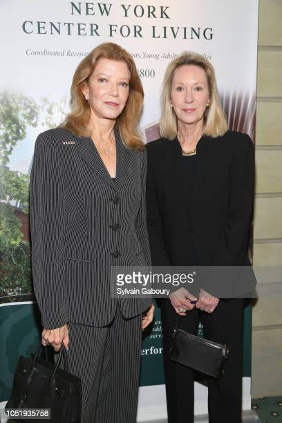 Sandra Whitney and Anne Eisenhower attend 10th Anniversary Gala Celebration at The Pierre Hotel on October 11 2018 in New York City
