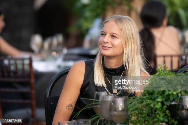 Sandra Winther attends the Hamptons Magazine x The Chainsmokers VIP Dinner at The Barn at Nova's Ark on July 25, 2020 in Watermill, New York.