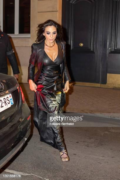 Sandra Zeitoun arrives at Sidaction Gala Dinner 2020 At Pavillon Cambon on January 23 2020 in Paris France