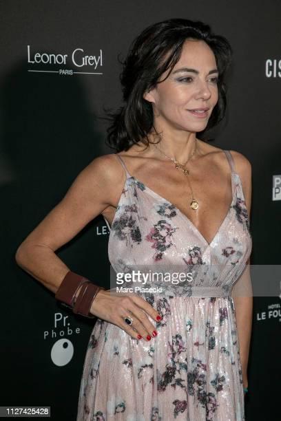 Sandra Zeitoun de Matteis attends the 14th Globe De Cristal ceremony at Salle Wagram on February 04 2019 in Paris France