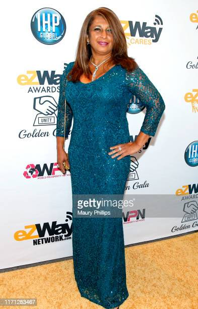 Sandrena Schumacher attends the eZWay Awards Golden Gala at Center Club Orange County on August 30 2019 in Costa Mesa California