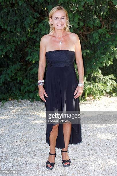 Sandrine Bonnaire attends 9th Angouleme FrenchSpeaking Film Festival on August 25 2016 in Angouleme France