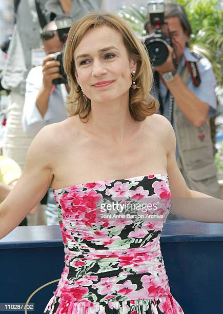Sandrine Bonnaire during 2006 Cannes Film Festival 'Jury Cinefondation' Photocall at Palais des Festival Terrace in Cannes France