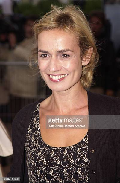 Sandrine Bonnaire during Deauville 2001 The AI Artificial Intelligence Premiere at Centre International Deauville CID in Deauville France
