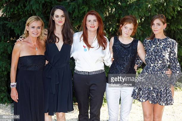 Sandrine Bonnaire Noemie Merlant MarieCastille MentionSchaar Naomi Amarger and Clotilde Courau attend 9th Angouleme FrenchSpeaking Film Festival on...