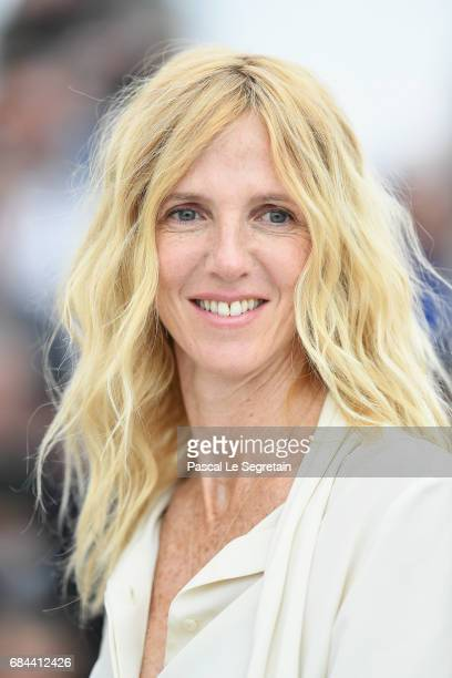 Sandrine Kiberlain attends Jury Camera D'Or Photocall during the 70th annual Cannes Film Festival at Palais des Festivals on May 18 2017 in Cannes...