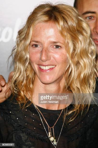 Sandrine Kiberlain attends 'Le Petit Nicolas' Paris premiere at Le Grand Rex on September 20 2009 in Paris France