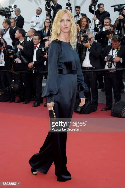 Sandrine Kiberlain attends the Closing Ceremony of the 70th annual Cannes Film Festival at Palais des Festivals on May 28 2017 in Cannes France