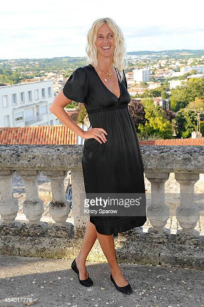 Sandrine Kiberlain attends the 'Elle l'adore' Photocall at Hotel Mercure during the 7th Angouleme FrenchSpeaking Film Festival on August 23 2014 in...
