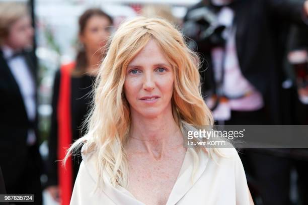 Sandrine Kiberlain attends the 'The Unknown Girl ' premiere during the 69th annual Cannes Film Festival on May 18, 2016 in Cannes, France.