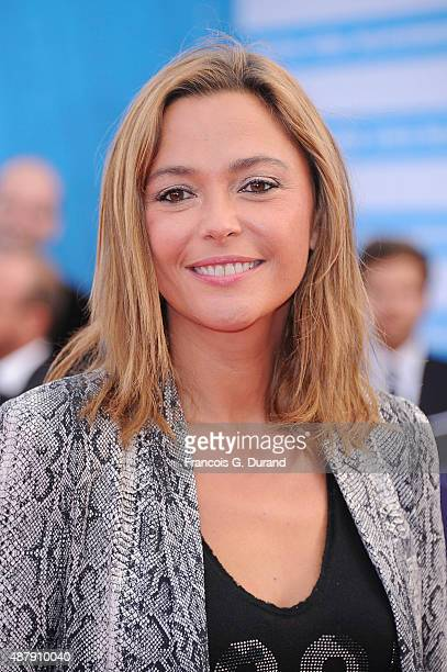 Sandrine Quetier arrives at the Closing Ceremony and 'Sicario' Premiere during the 41st Deauville American Film Festival on September 12 2015 in...