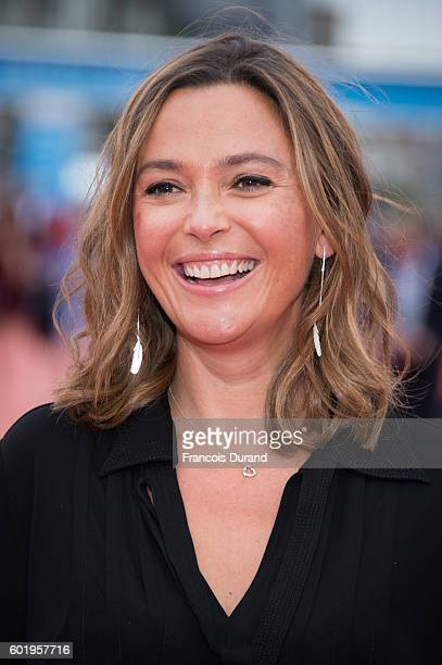 Sandrine Quetier arrives to the War Dogs premiere and Award Ceremony during the 42nd Deauville American Film Festival on September 10 2016 in...