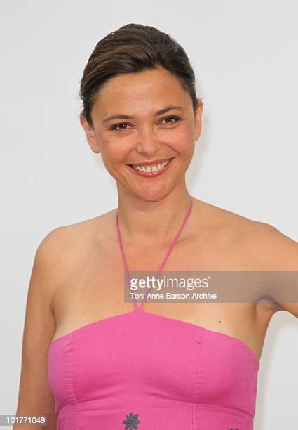 Sandrine Quetier attends a photocall at the Grimaldi Forum on June 7 2010 in MonteCarlo Monaco
