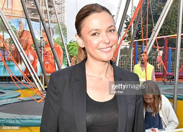 Sandrine Quetier attends La Fete des Tuileries on June 24 2016 in Paris France