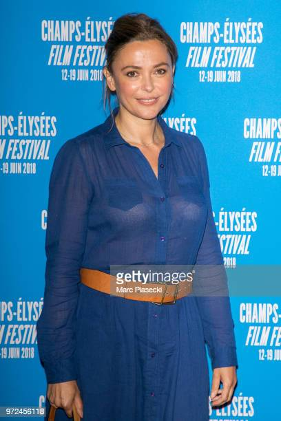 Sandrine Quetier attends the 7th Champs Elysees Film Festival at Cinema Gaumont Marignan on June 12 2018 in Paris France