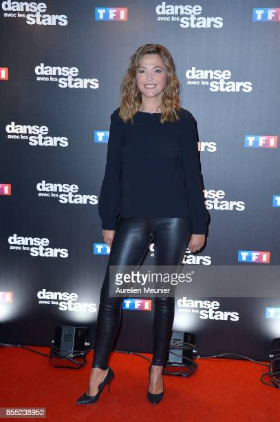 Sandrine Quetier attends the 'Danse avec les Stars' photocall at TF1 on September 28 2017 in Paris France