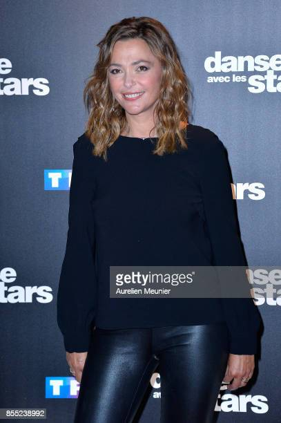 Sandrine Quetier attends the Danse avec les Stars photocall at TF1 on September 28 2017 in Paris France