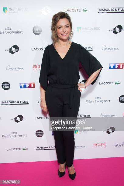 Sandrine Quetier attends the 'Trophees du Film Francais' 25th Ceremony at Palais Brongniart on February 6 2018 in Paris France