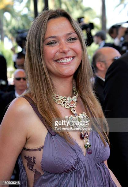Sandrine Quetier during 2007 Cannes Film Festival Chacun Son Cinema All Directors Premiere at Palais des Festival in Cannes France