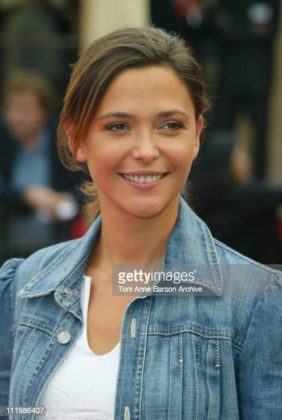 Sandrine Quetier during Deauville 2002 Avenging Angelo Premiere at CID Deauville in Deauville France