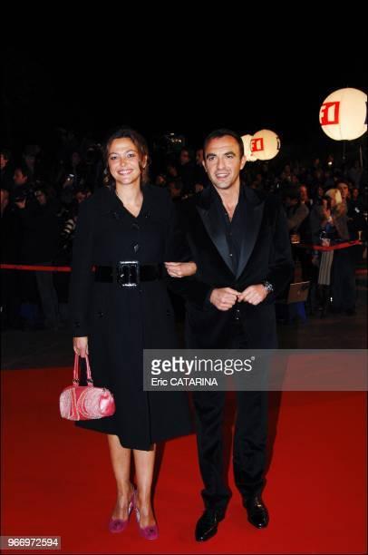 Sandrine Quetier et Nikos Aliagas