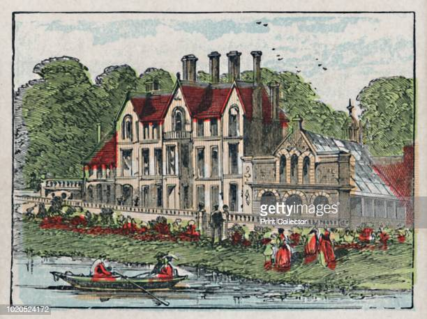 Sandringham', circa 1910. 'Sandringham Hall. One of the Residences of Royalty'. Card from The Counties of England - A Geographical Game. 3rd Series....