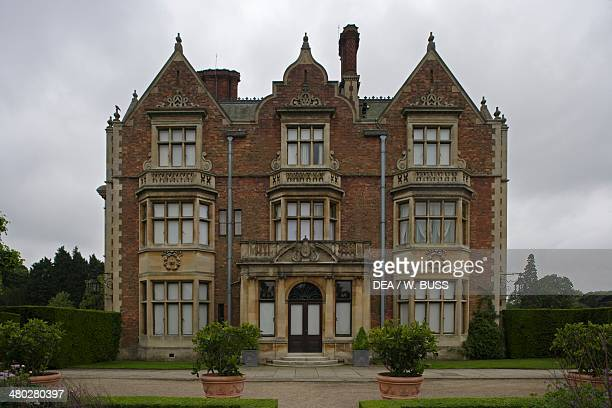 Sandringham house architect Albert Jenkins Humbert country residence of the British royal family Sandringham Norfolk United Kingdom