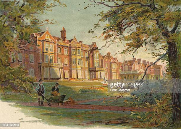 Sandringham House', c1890. After a photograph of T. Smith & Son. From Cassell's History of England, Vol. VI. By John Cassell. [A. W. Cowan, Cassell &...