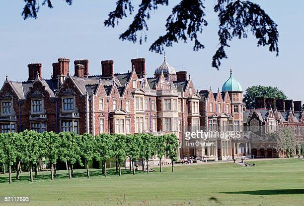 Sandringham House In Norfolk It Was Opened To The Public In 1977 But It Is Closed In December When The Royal Family Celebrate Christmas There