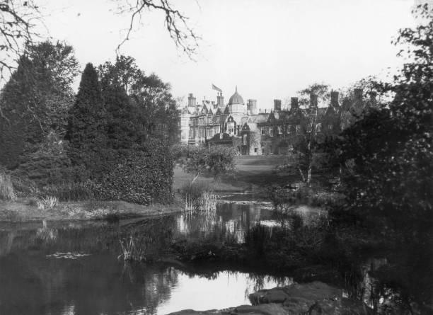 Sandringham House in Norfolk.