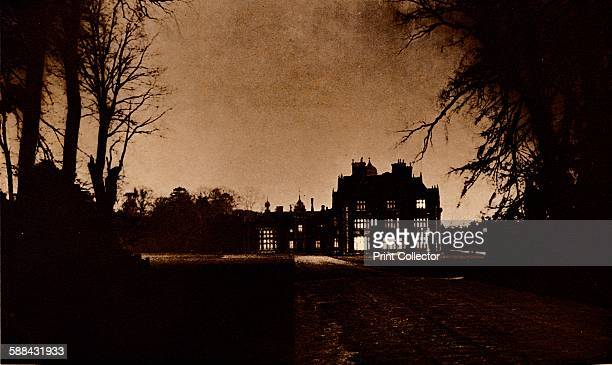 Sandringham House Norfolk on the night of King George V's death 1936 From George V and Edward VIII A Royal Souvenir by F G H Salusbury