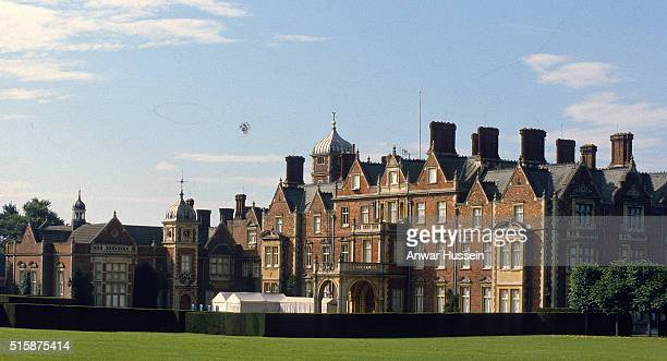 Sandringham House one of the Queen's homes on August 01 circa 1990s in Sandringham England