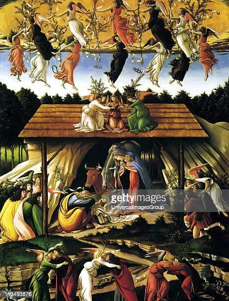 Sandro Botticelli 1445 1510 Florentine Italian painter Adoration of the Magi c 1475 Tempera on panel