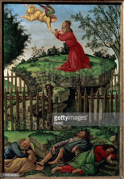 Sandro Botticelli Italian painter Prayer of the Garden Royal Chapel Granada Spain